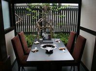 焼肉 開拓村のテーブル個室