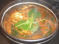 焼肉 開拓村 テグタンスープ